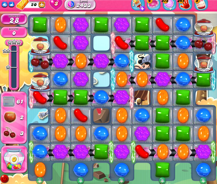 Candy Crush Saga level 2433