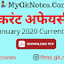 3 & 4 January 2020 Current Affairs PDF