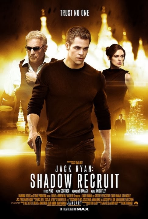 Jack Ryan Shadow Recruit movie review