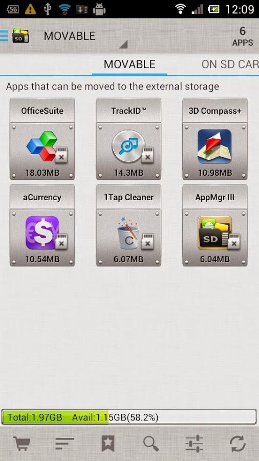 AppMgr Pro III (App 2 SD) v3.70