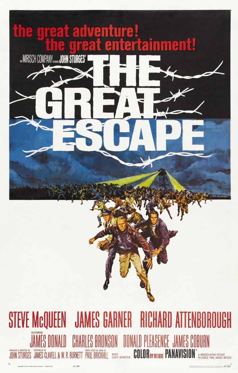 Download The Great Escape (1963) Full Movie in English  Audio BluRay 720p [1GB]