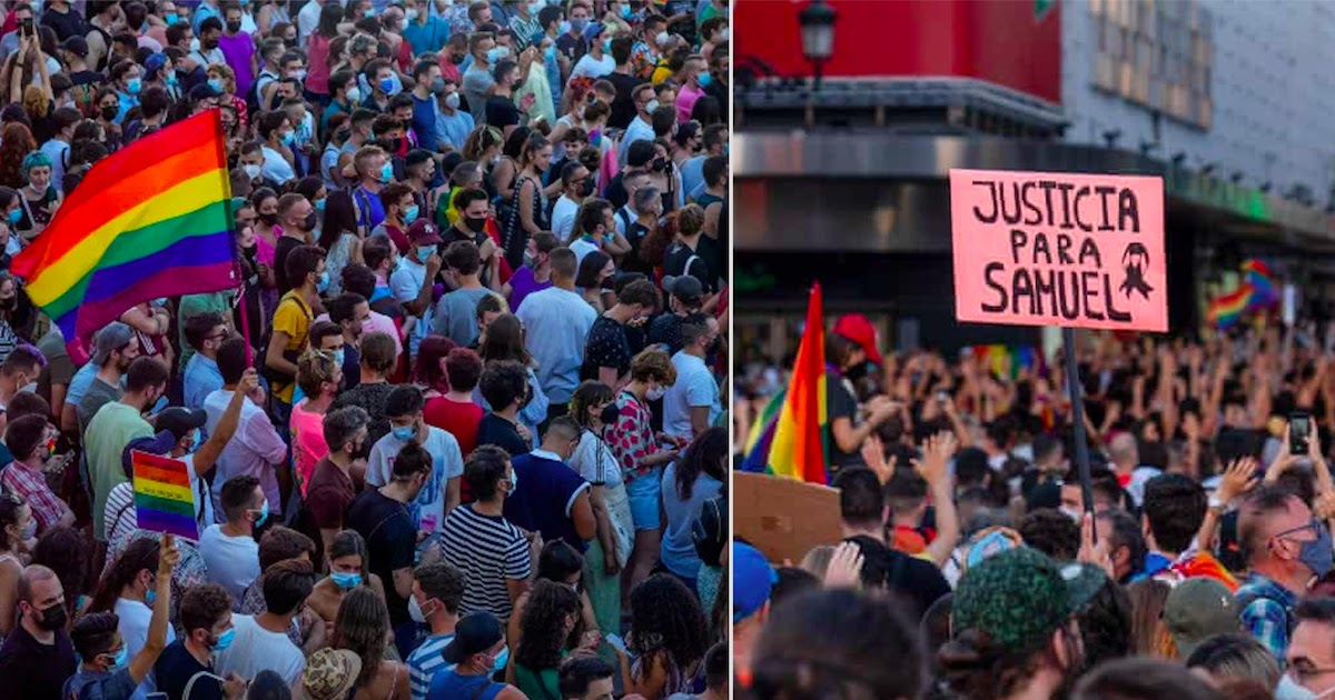 Thousands Protest Across Spain Following Homophobic Attack To 24-Year-Old Who Was Beaten To Death