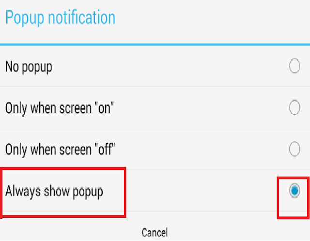 How Enable Whatsapp Message Notifications Popup