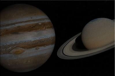 سيشكل كوكب زحل والمشتري نجمة الكريسماس هذا الشهر