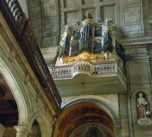 orgão ibérico da Igreja de São Lourenço