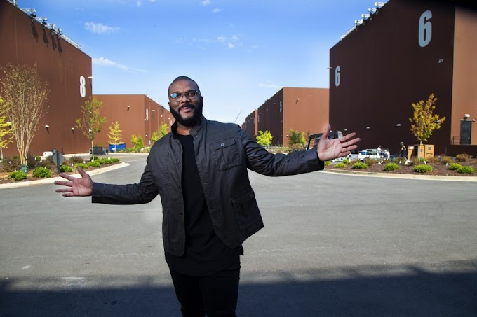 Video: Tyler Perry unveiled his $250 million Atlanta studio, the only major film studio in the nation owned by an African American