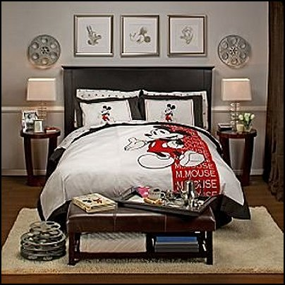 Vintage mickey mouse bedding