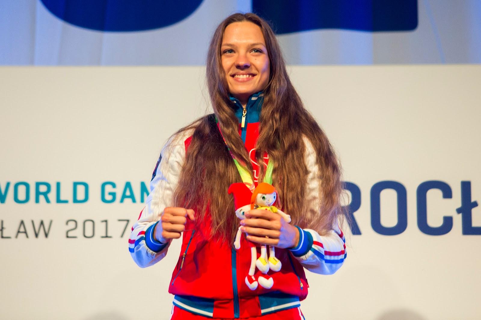 Svetlana Vinnikova a nominee for IWGA Athlete of the Year