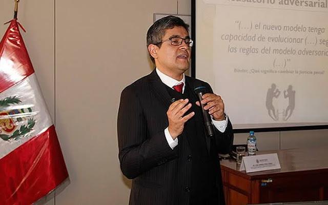 """arequipa  Fiscal José Domingo Pérez: """"Los Cuellos Blancos siguen en las instituciones porque le deben el puesto a alguien más"""""""