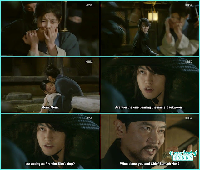 byung yun then fight the men who were kidnapping ra on  - Love In The Moonlight - Episode 15 Review (Eng Sub) - park bo gum & kim you jung