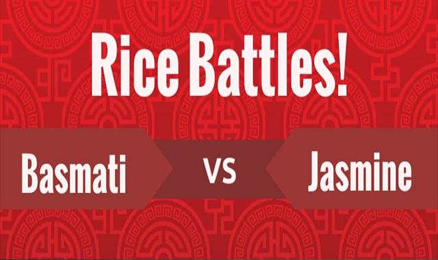 Rise Battles! Basmati Rice Vs Jasmine Rice