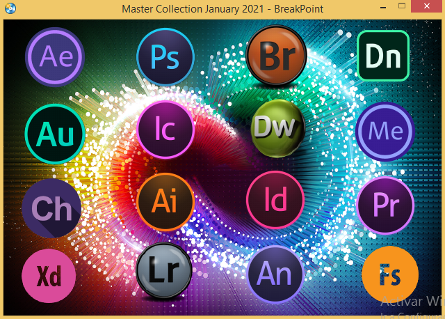 Adobe Master Collection CC 2021 Español