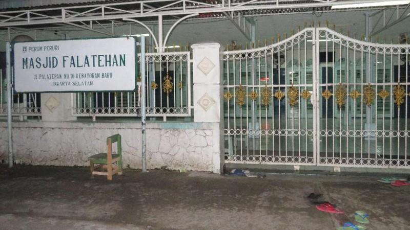 Masjid Falatehan, lokasi penusukan anggota Brimob