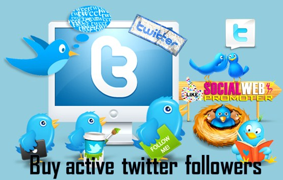 buy active twitter followers