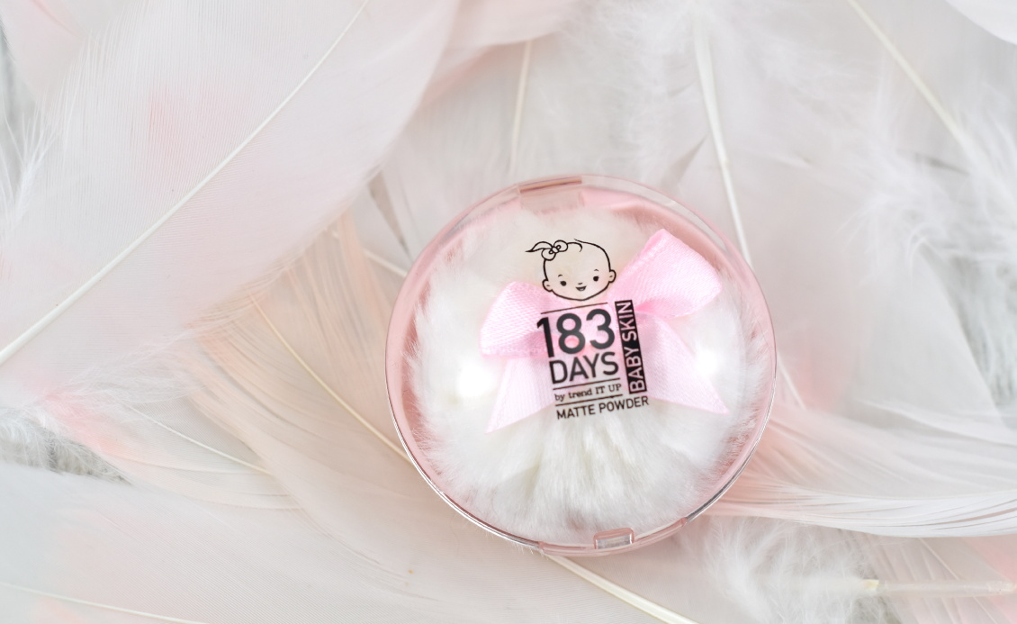 183 Days by trend IT UP Baby Skin Serie - Review und Erfahrung - Matte Powder
