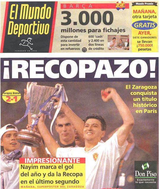Recopazo Mundo Deportivo Zaragoza