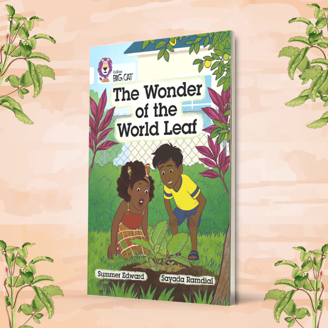 The Wonder of the World Leaf book cover