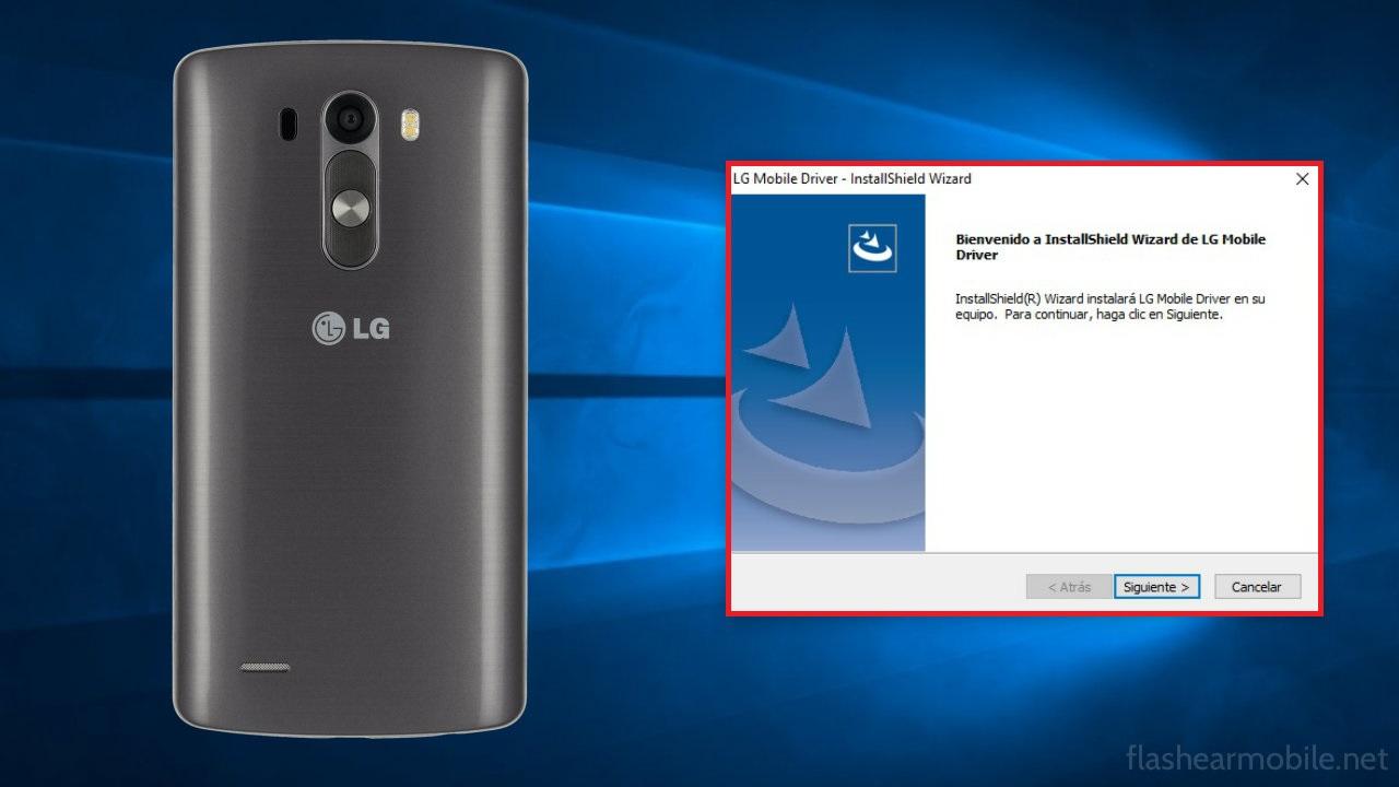 Drivers para cualquier móvil LG