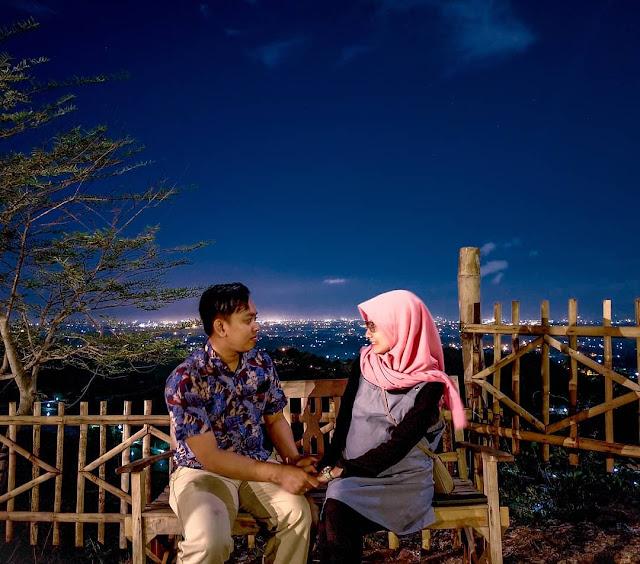 Tempat romantis tahun baru 2019 di Yogyakarta, puncak sosok bawuran Bantul