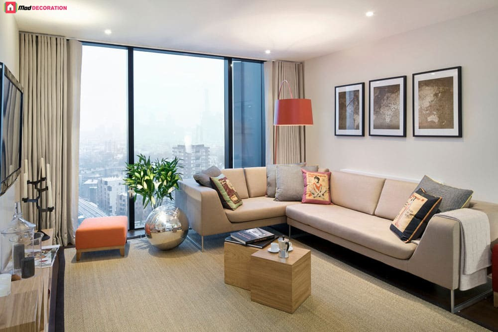 modern apartment design ideas: stylistic theme, furniture, and decoration