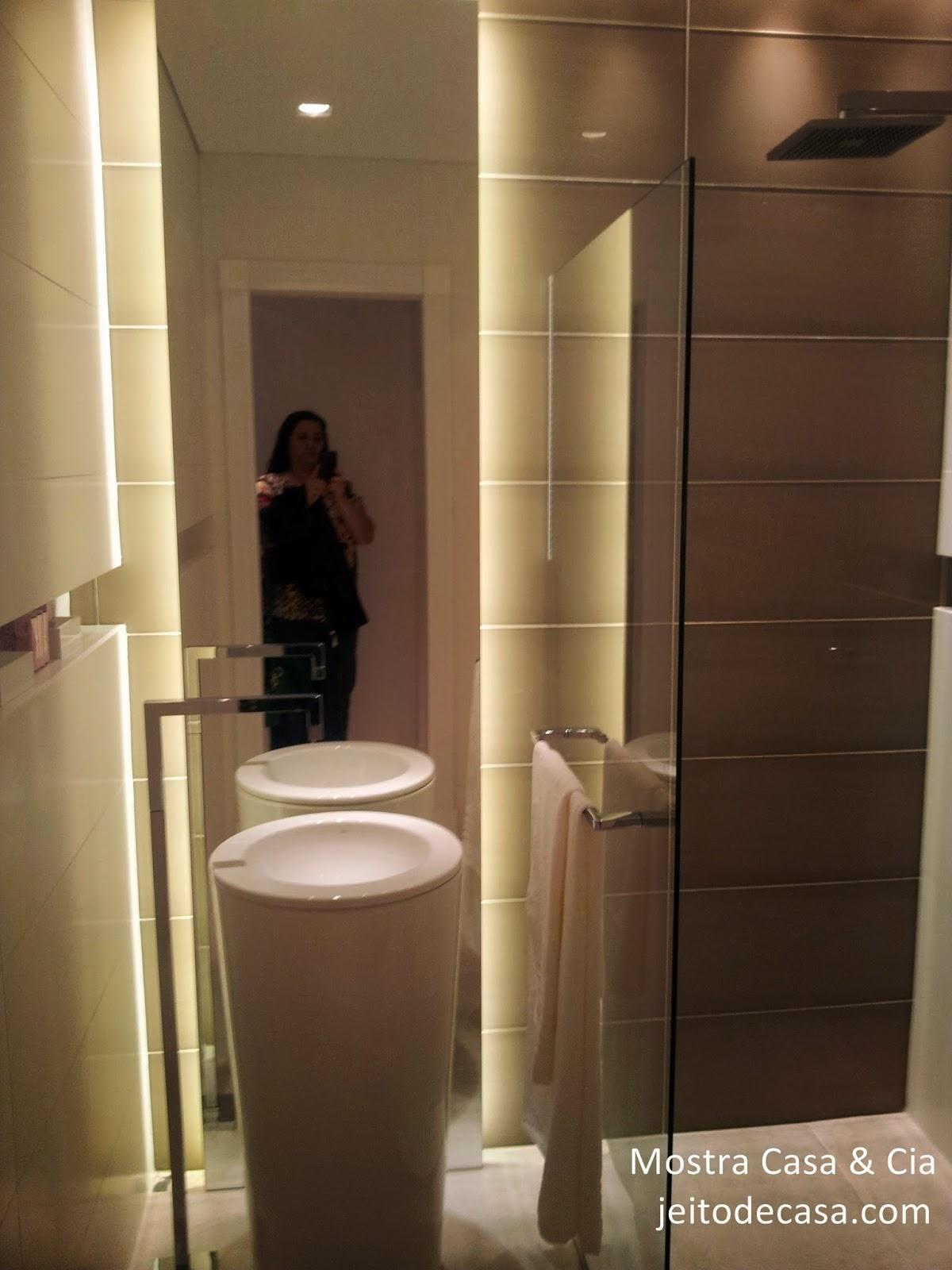 banheiro mostra decoração