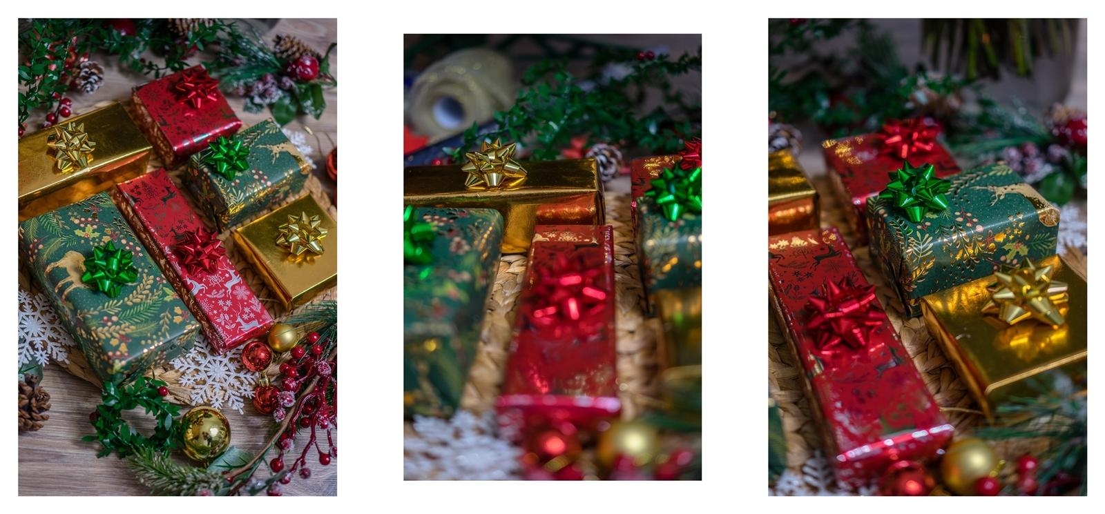 Jak zapakować prezent w papier pakowy Inspiracje na eleganckie prezenty pod choinkę  gdzie kupić ładny papier pakowy, w sarnny, złoty, czerwona folia, świąteczne prezenty  krok po kroku.