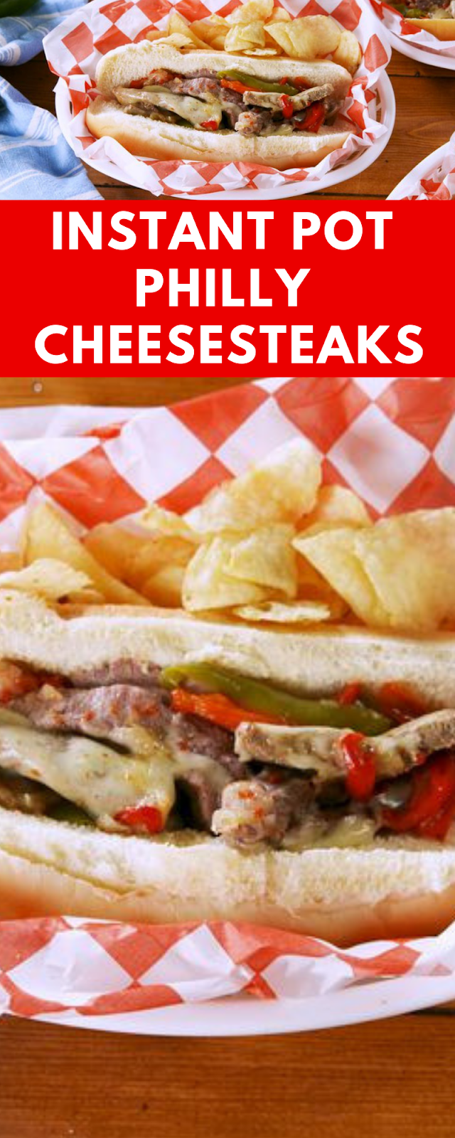 Instant Pot Philly Cheesesteaks