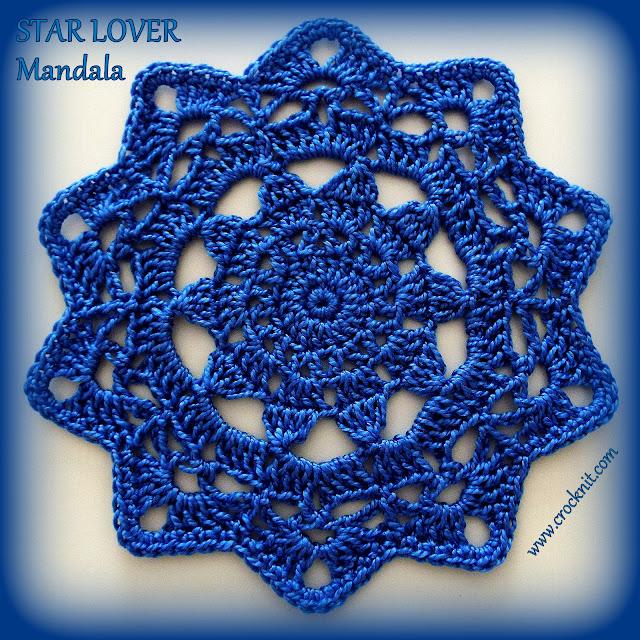 how to crochet, STARS, crochet patterns, decorative crochet, mandalas, coasters, doileys,