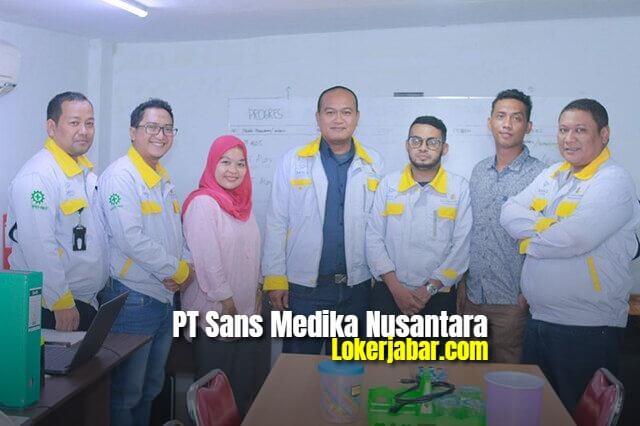 Lowongan Kerja PT Sans Medika Nusantara Bogor 2021