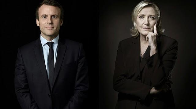Εκλογές στη Γαλλία: Μακρόν εναντίον Λεπέν στην τελική αναμέτρηση