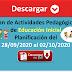 DESCARGAR EN PDF Plan de Actividades Pedagógicas de Educación Inicial      Planificación del 28/09/2020 al 02/10/2020