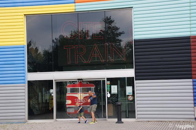 Ingresso al Museo Ferroviario di Mulhouse