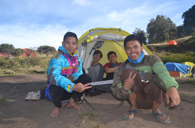 Tenda Kami Di Sabana Butak