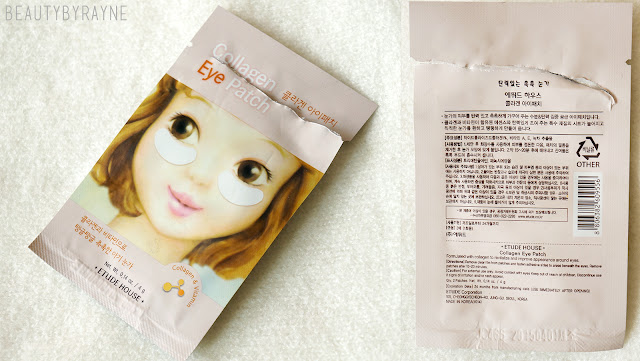 Etude House Collagen Eye Patch review