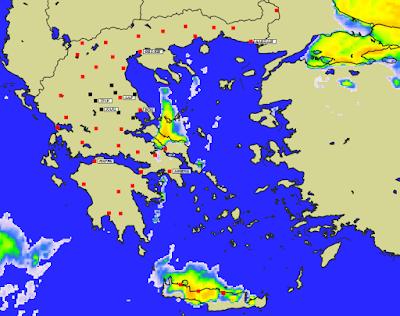 2 - Πρόγνωση Ελλάδας-Θεσσαλίας 21-23/1/2020 Βοριάδες, παγετός και ηλιοφάνεια