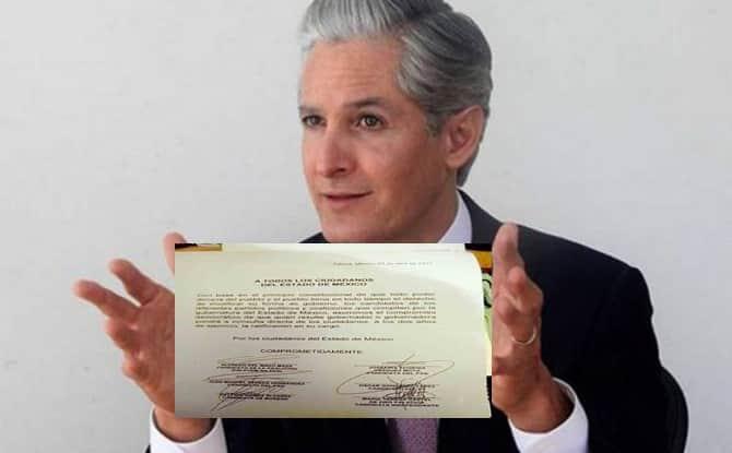 Oficios, documentos, firmas