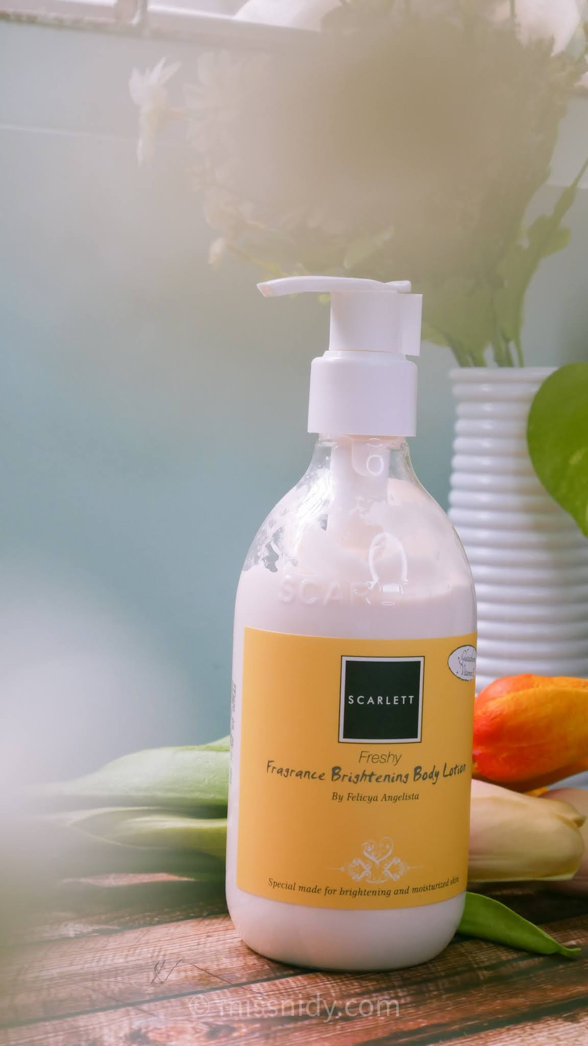 review fragrance body lotion scarlett whitening