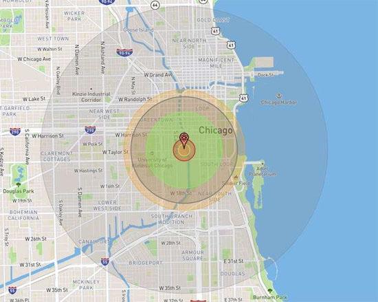 Explosão Nuclear Chicago 2