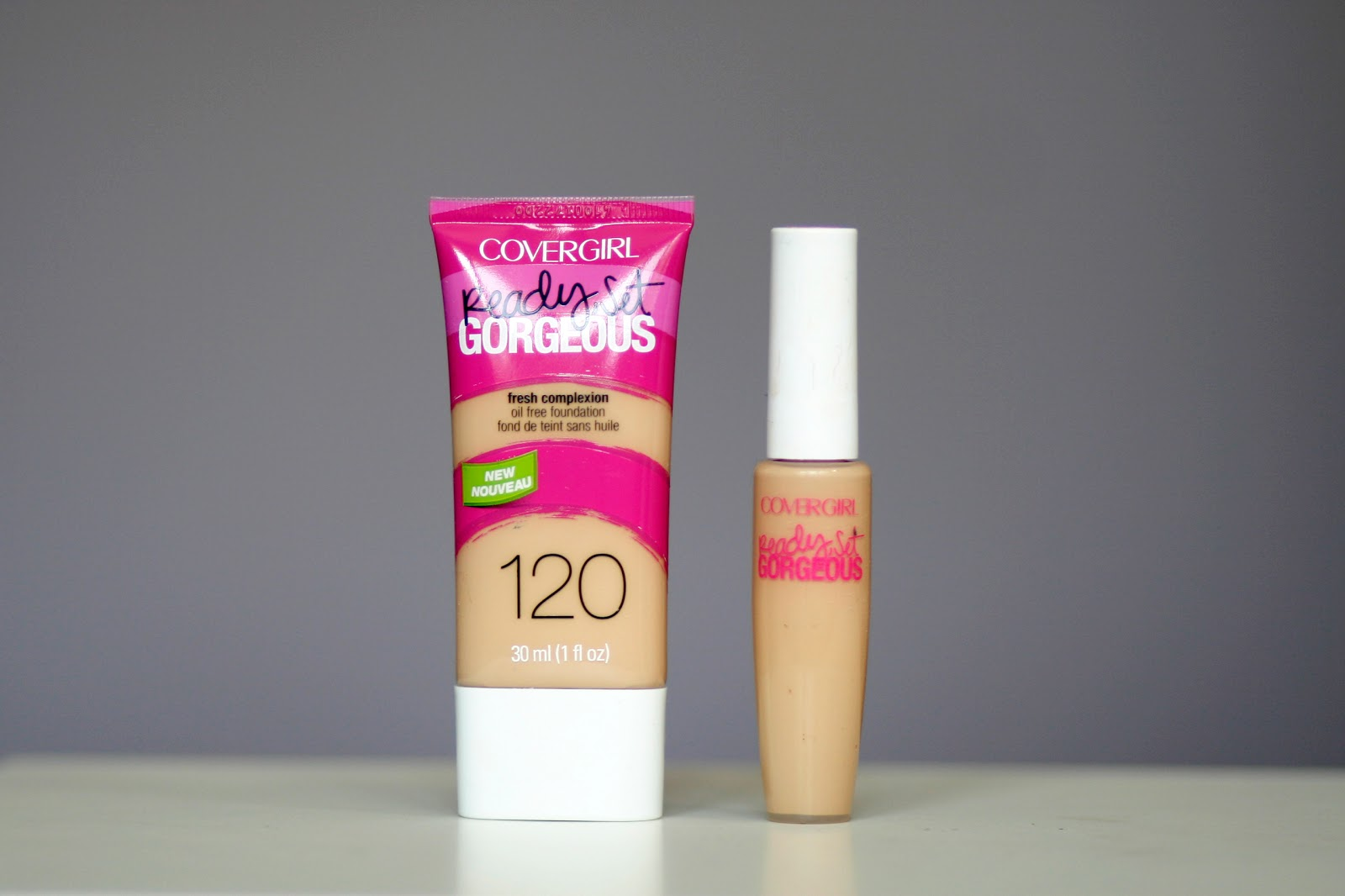 Fun Size Beauty Covergirl Ready Set Gorgeous Foundation -8919