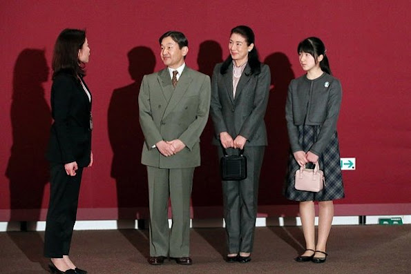 Crown Prince Naruhito, Crown Princess Masako and their daughter Princess Aiko