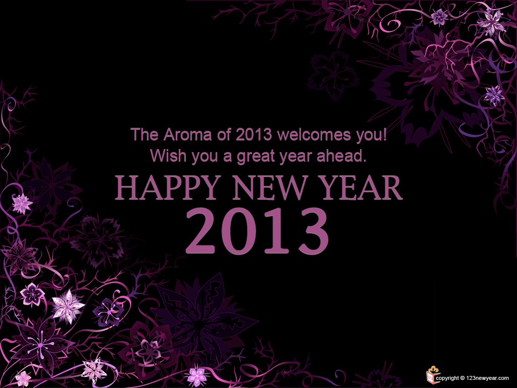 Happy new year wallpaper new year wallpaper 2013. 1024 x 768.Send New Years Greetings Text
