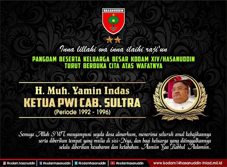 Pangdam Hasanuddin Ucapkan Duka Cita Atas Wafatnya Wartawan Senior H. Yamin Indas