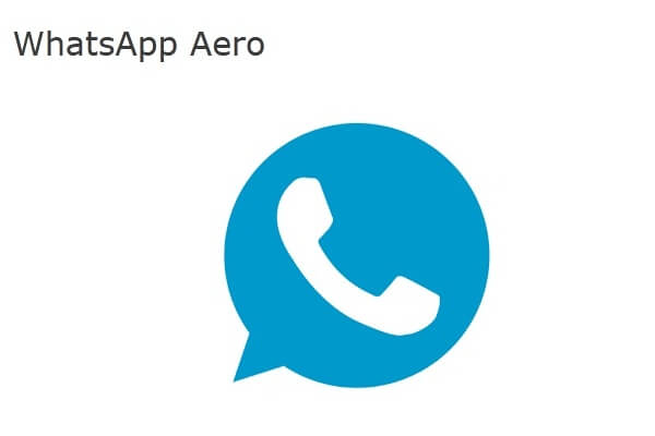 Download WhatsApp Aero Apk Versi Terbaru