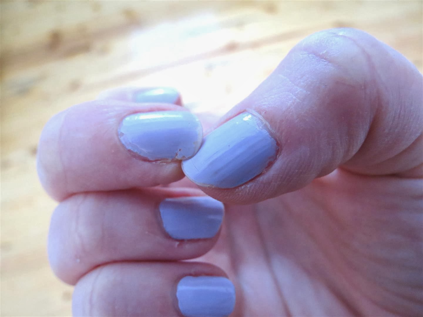 Fix a Broken Nail with Paper Tape - Black Spruce Hound