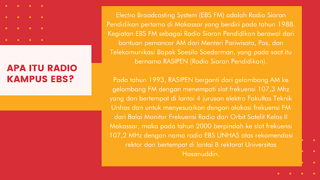 EBS FM UNHAS