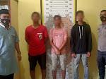 Lempar Bus Dengan Batu, Tiga Pria Ini Diamankan Polsek Birem Bayeun