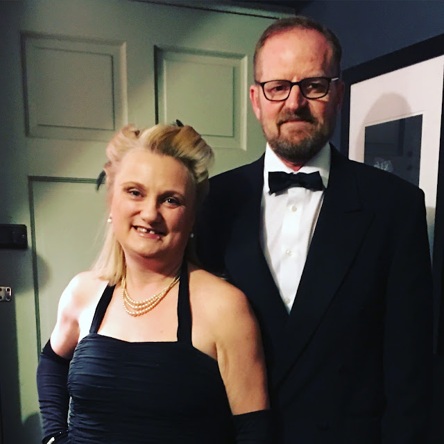 madmumof7 and husband in evening dress