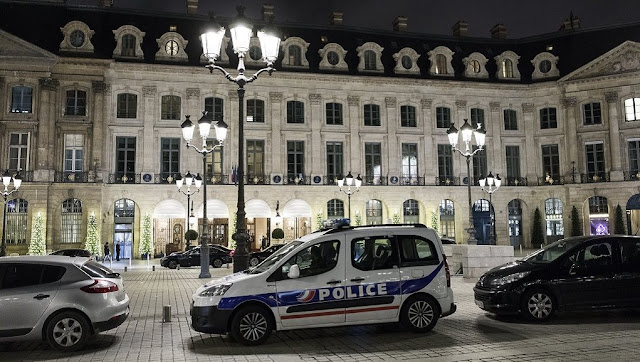 Μεγάλη ληστεία  στο πολυτελές ξενοδοχείο Ritz στο Παρίσι - Eκαναν «φτερά» κοσμήματα αξίας 4 εκατ. ευρώ