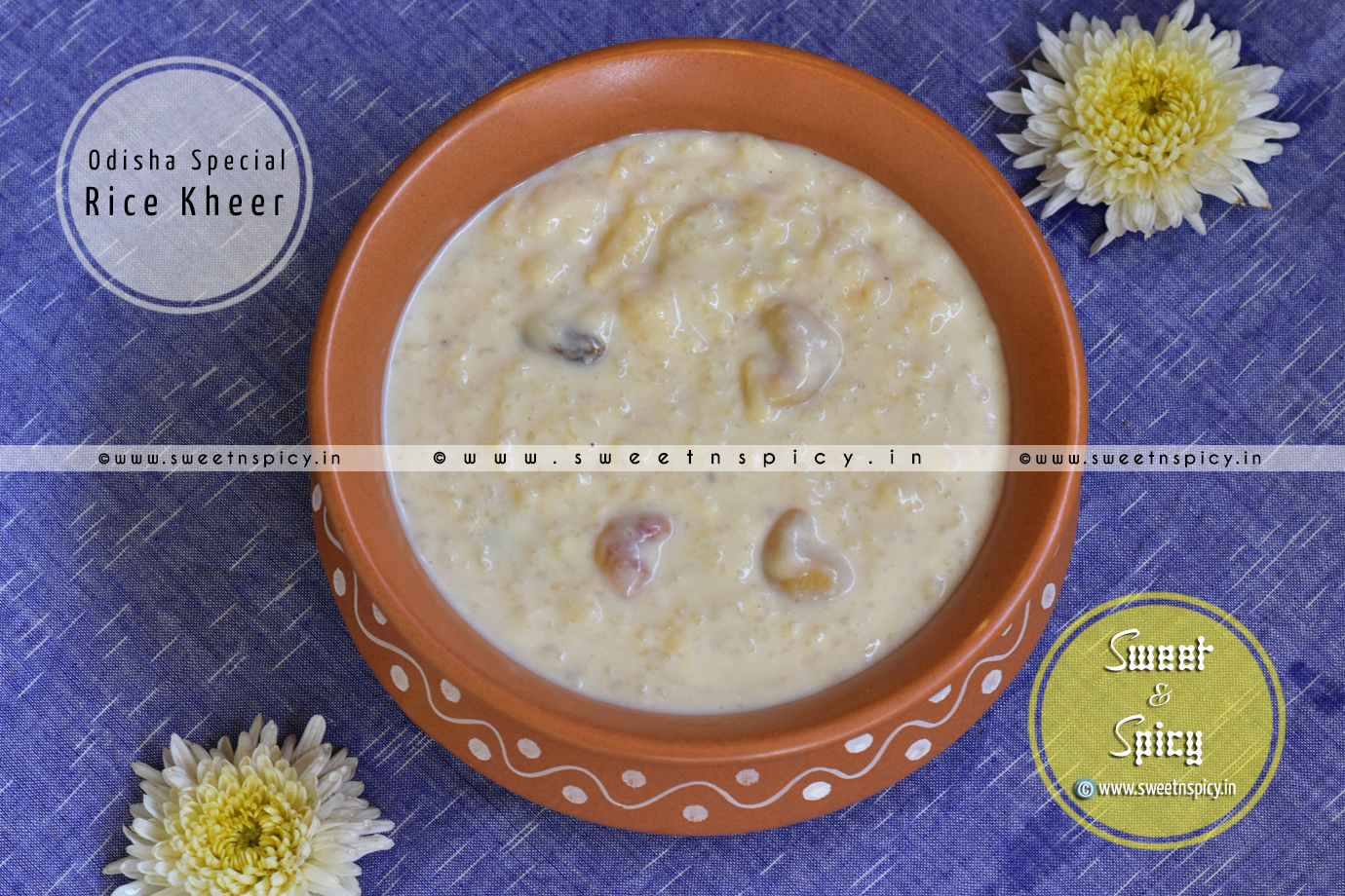 Odisha Special Rice Kheer (Chaula Khiri)