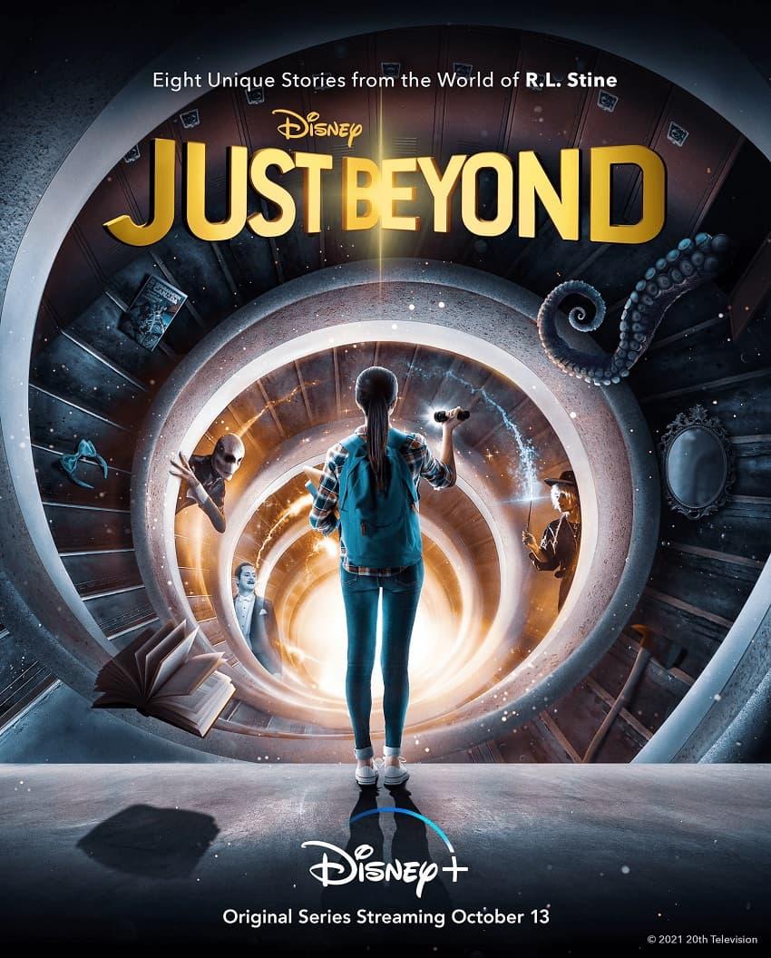 Disney+ показал трейлер сериала Just Beyond по комиксам писателя Р. Л. Стайна - Постер
